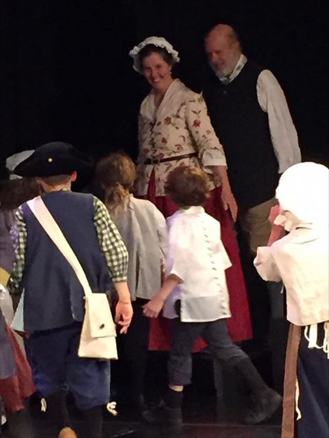 [image]Children, music and history- a delightful combination. Here we are at MoCo Arts in Keene, taking part in a production of the MoCo Minutmen.