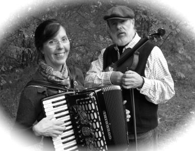[image]Allison and Hunt play accordion, fiddle, and much more
